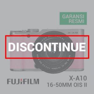Jual FUJIFILM X-A10 Kit XC 16-50mm Pink Harga Murah