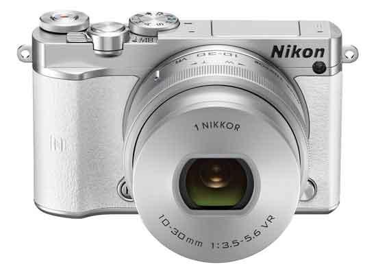 Jual Kamera Mirrorless Nikon 1 J5 Kit 10-30mm White Murah. Cek Harga Kamera Mirrorless Nikon 1 J5 Kit 10-30mm White disini, Toko Kamera Online Surabaya Jakarta - Plazakamera.com