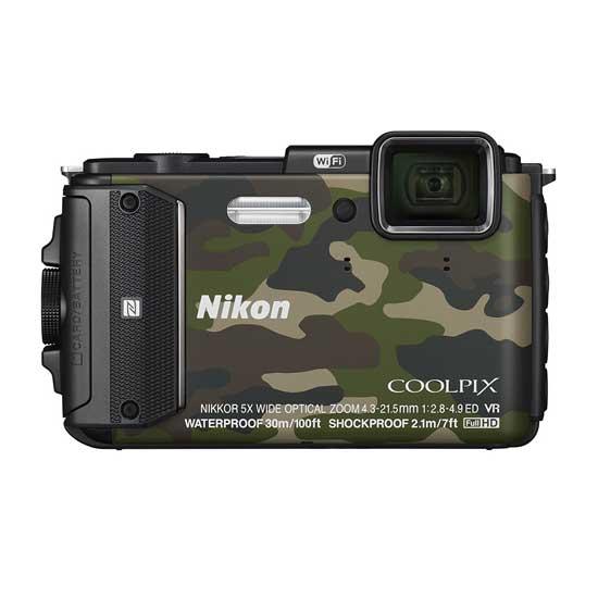 Jual Kamera Nikon Coolpix AW130 Green Murah. Cek Harga Kamera Nikon Coolpix AW130 Green disini, Toko Kamera Online Surabaya Jakarta - Plazakamera.com