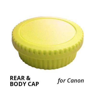 Jual Rear & Body Cap for Canon Light Yellow