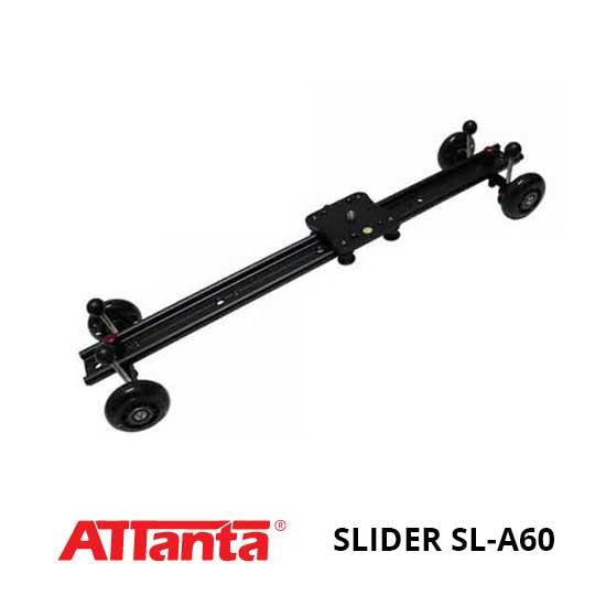 Jual Attanta Slider SL-A60 Murah. Cek Harga Attanta Slider SL-A60 disini, Toko Kamera Online Surabaya Jakarta - Plazakamera.com