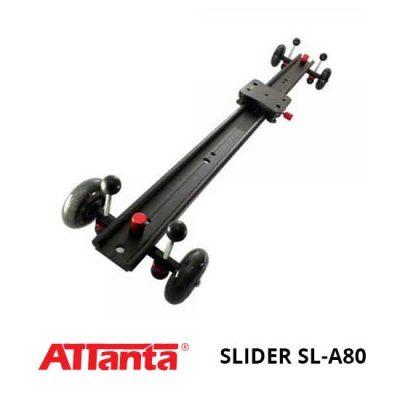 Jual Attanta Slider SL-A80 Murah. Cek Harga Attanta Slider SL-A80disini, Toko Aksesoris Kamera Online Surabaya Jakarta - Plazakamera.com