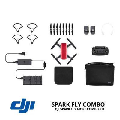 jual drone DJI Spark Fly More Combo - Lava Red harga murah surabaya dan jakarta