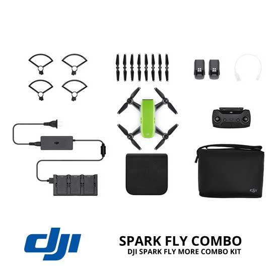 jual drone DJI Spark Fly More Combo - Meadow Green harga murah surabaya dan jakarta