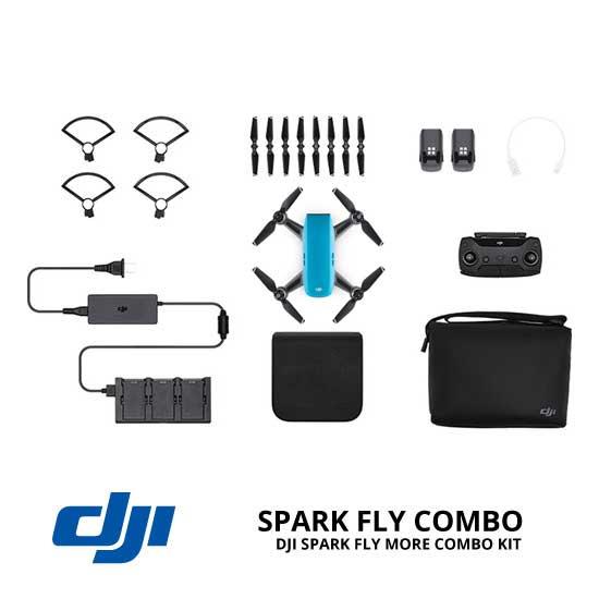 jual drone DJI Spark Fly More Combo - Sky Blue harga murah surabaya dan jakarta