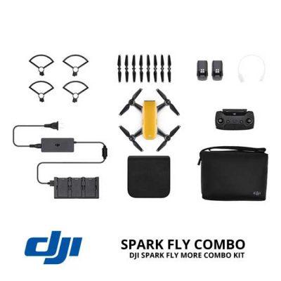 jual drone DJI Spark Fly More Combo - Sunrise Yellow harga murah surabaya dan jakarta