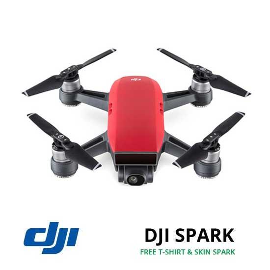 jual drone DJI Spark - Lava Red harga murah surabaya dan jakarta