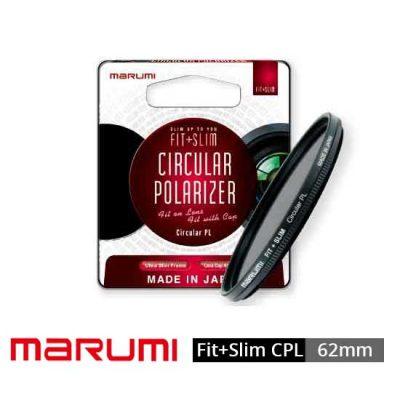 Jual Marumi FitSlim Circular PL 62mm Filter Lensa Murah. Cek Harga Marumi FitSlim Circular PL 62mm Filter Lensa disini, Toko Aksesoris Kamera Online Surabaya Jakarta