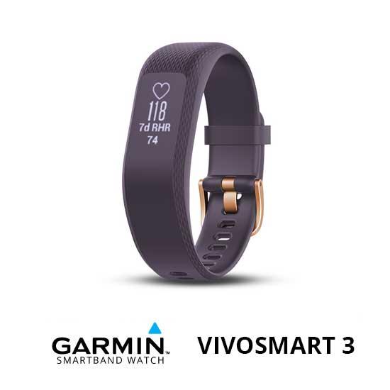 Jual Garmin Vivosmart 3 Purple/RoseGold