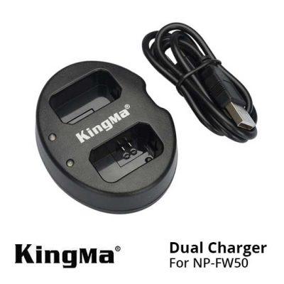 Thumb Kingma Dual Charger NP-FW50