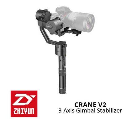 Jual Gimbal Kamera Zhiyun Crane V2 Murah. Cek Harga Zhiyun Crane V2 3-Axis Stabilizer Gimbal Camera disini, Toko Kamera Online Surabaya, Jakarta - Plazakamera.com