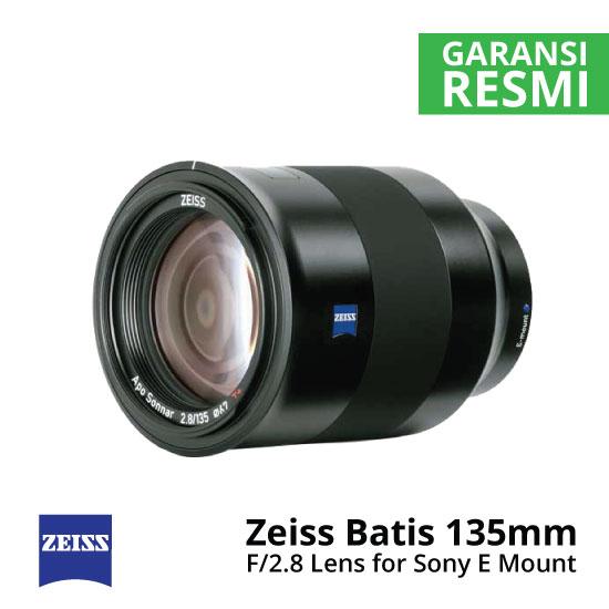 Jual Lensa Zeiss Batis 135mm F/2.8 For Sony E Mount