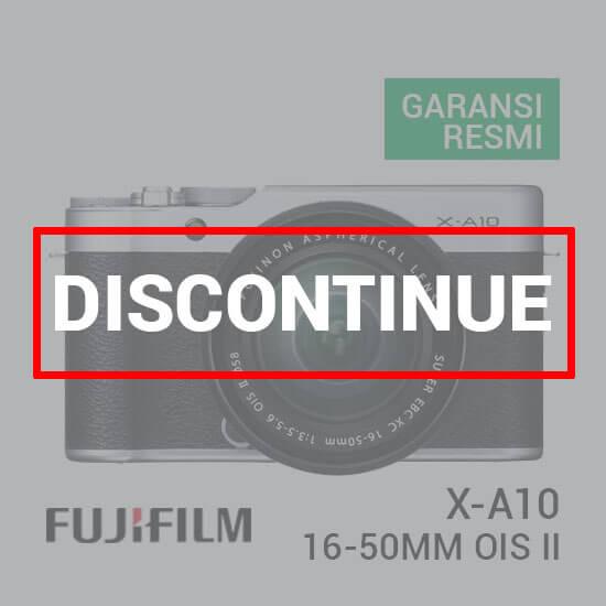 Jual FUJIFILM X-A10 Kit XC 16-50mm Silver Harga Murah