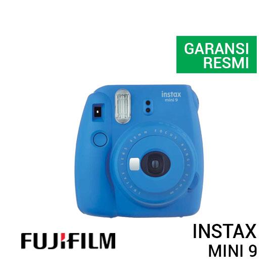 jual kamera FujiFilm Instax Mini 9 Cobalt Blue harga murah surabaya jakarta