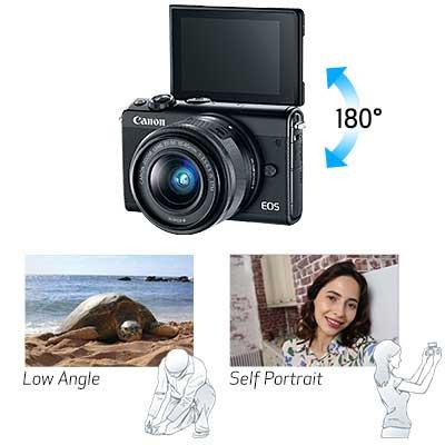 Fitur Canon EOS M100 Kit EF-M 15-45mm