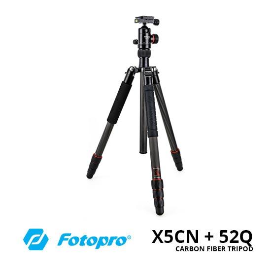 jual Fotopro X5CN + 52Q Carbon Fiber Tripod