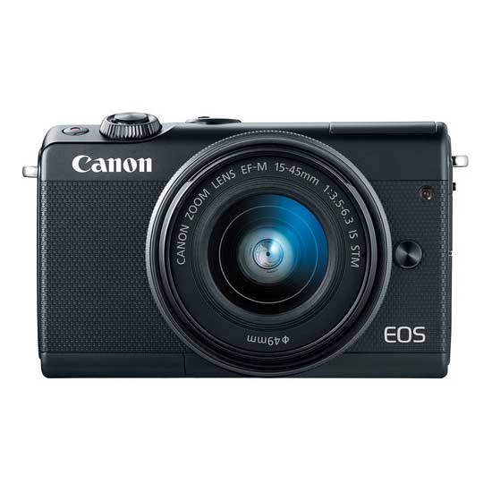 Jual Canon EOS M100 Kit EF-M 15-45mm Black