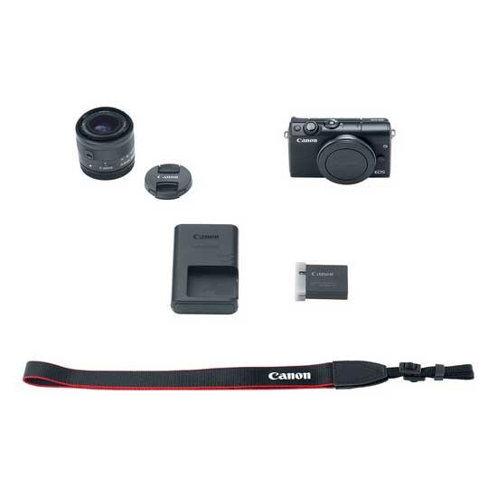 Jual Canon EOS M100 Kit EF-M 15-45mm Black