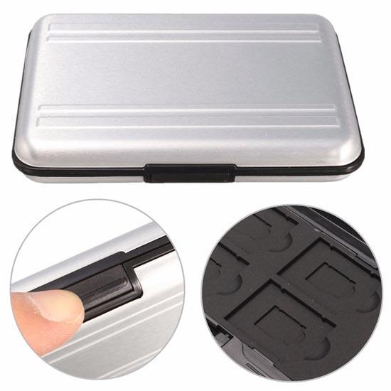 jual Memory Case fits 8 slot (MicroSD-SDcard)