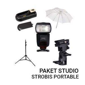 Jual Paket Strobis Portable Terbaru Harga Murah & Spesifikasi