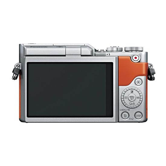 jual Panasonic Lumix DC-GF9K Mirrorless Camera Orange