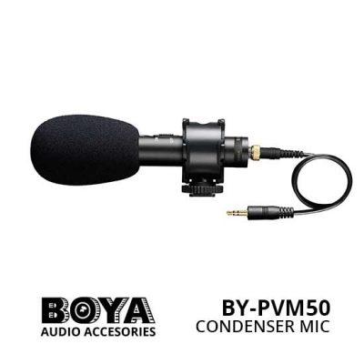 Jual Boya BY-PVM50 Condenser Microphone