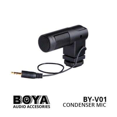 Jual Boya BY-V01 Condenser Microphone