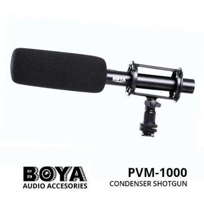 Jual Boya PVM-1000 Condenser Shotgun Microphone