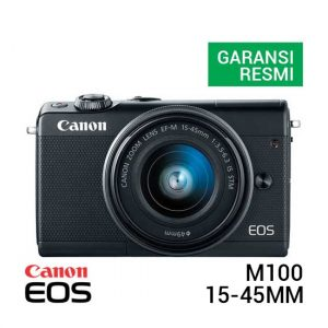 Canon EOS M100 Kit EF-M 15-45mm Black
