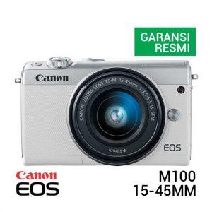 Canon EOS M100 Kit EF-M 15-45mm White