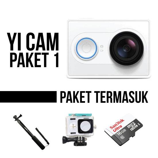 Thumb Paket Xiaomi Yi Camera