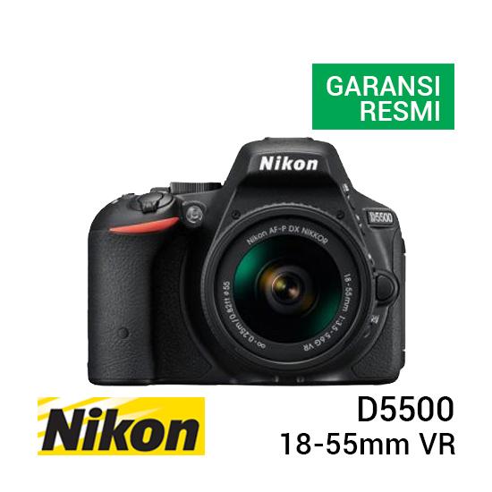 jual kamera Nikon D5500 Kit AF-P 18-55mm VR harga murah surabaya jakarta