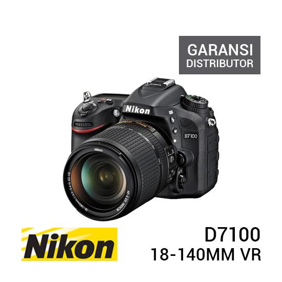 jual kamera Nikon D7100 Kit with AF-S 18-140mm VR harga murah surabaya jakarta