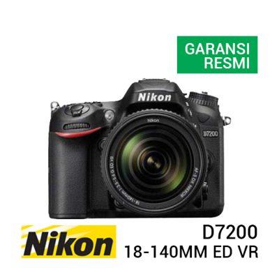 jual kamera Nikon D7200 Kit AF-S 18-140mm f/3.5-5.6G ED VR harga murah surabaya jakarta
