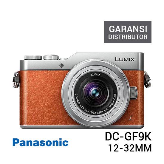 jual kamera Panasonic Lumix DC-GF9K Mirrorless Camera Orange harga murah surabaya jakarta