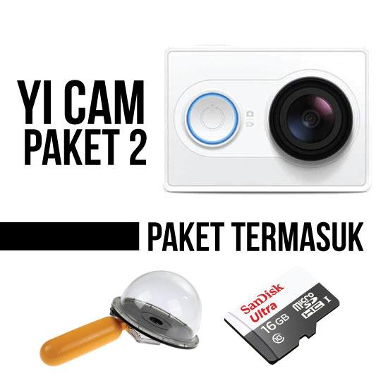 Thumb Paket Xiaomi Yi Camera with Dome