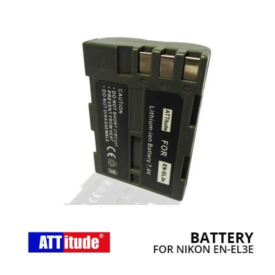 Baterai EN-EL3e untuk Kamera Nikon D50, D70, D70S, D100, D200