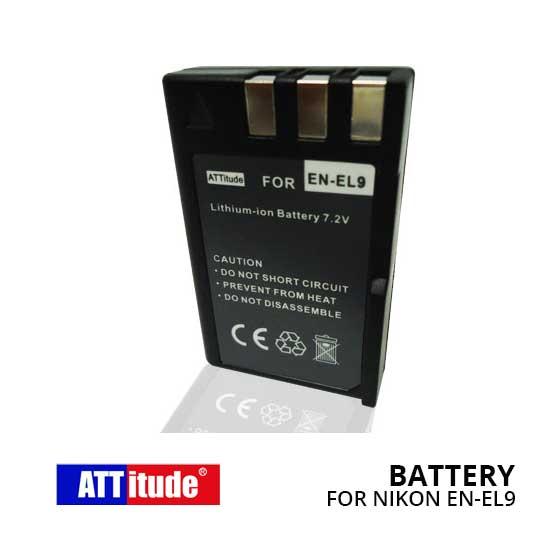 Baterai EN-EL9 untuk Kamera Nikon D5000 D3000 D40 D40X D60