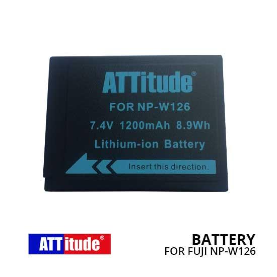 Baterai NP-W126 untuk Kamera Fujifilm FinePix dan Fujifilm X-series
