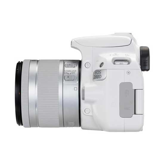 Jual Canon EOS 200D Kit EF-S 18-55 IS STM White