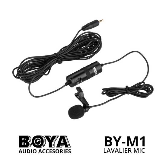 Jual Boya BY-M1 3.5 mm Lavalier Microphone