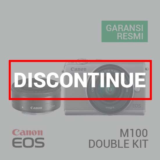 Canon EOS M100 Kit EF-M 15-45 IS STM & EF-M 22 STM Grey