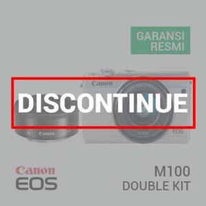 Canon EOS M100 Kit EF-M 15-45 IS STM & EF-M 22 STM White