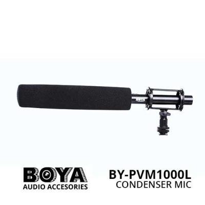 Harga Boya BY-PVM1000L Professional Condenser Shotgun Microphone