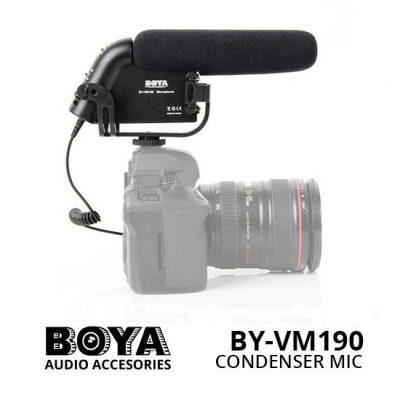 Jual Boya BY-VM190 Video Condenser Shotgun Microphone - Harga