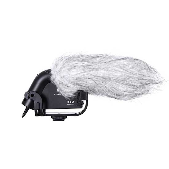Jual Boya BY-VM190 Video Condenser Shotgun Microphone - Harga