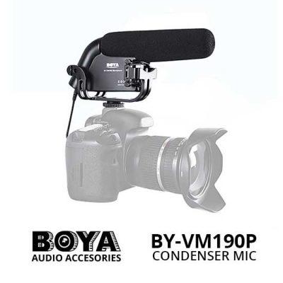 Jual Boya BY-VM190P Stereo Video Condenser Shotgun Microphone - Harga