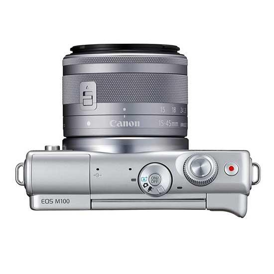 Jual Canon EOS M100 Kit EF-M 15-45mm Grey