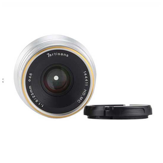 Jual Lensa 7Artisans 25mm f1.8 for Fujifilm X - Silver