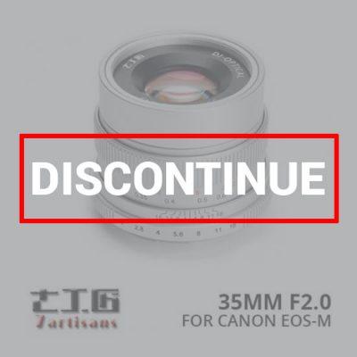 jual lensa 7Artisans 35mm f2.0 for Canon EOS-M - Silver harga murah surabaya jakarta